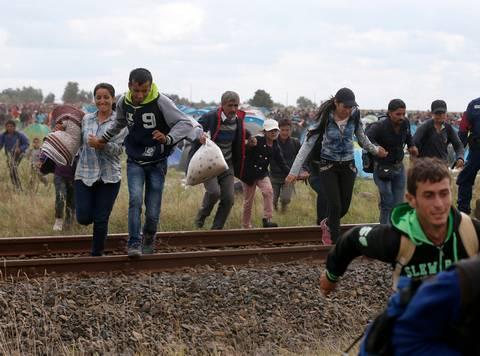 Correre per i migranti, per degli eroi, un dovere
